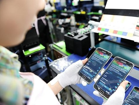 2018年前4个月越南对中国的手机出口额激增