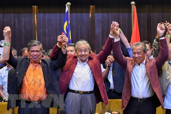 政府总理阮春福电贺马哈蒂尔•穆罕默德就任马来西亚总理
