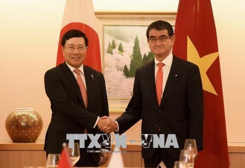越南十分重视越日深广战略伙伴关系
