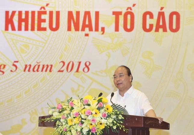 政府总理阮春福就举报投诉处理情况召开会议