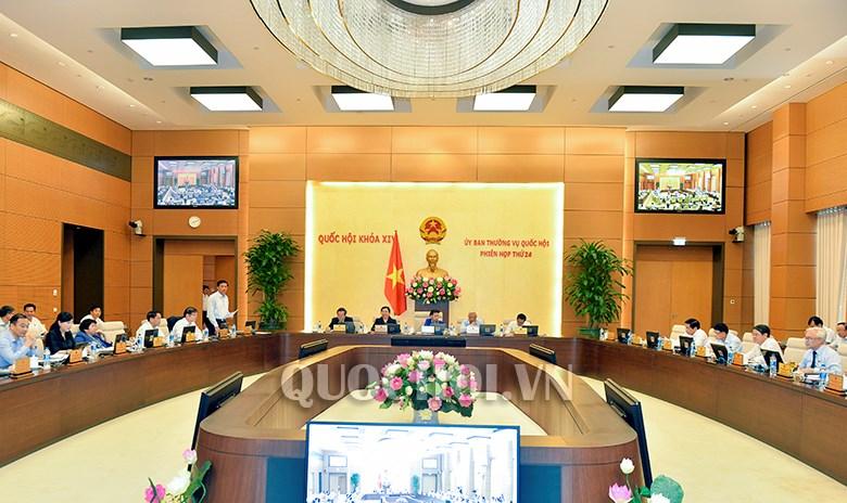 第十四届国会常委会第二十四次会议召开