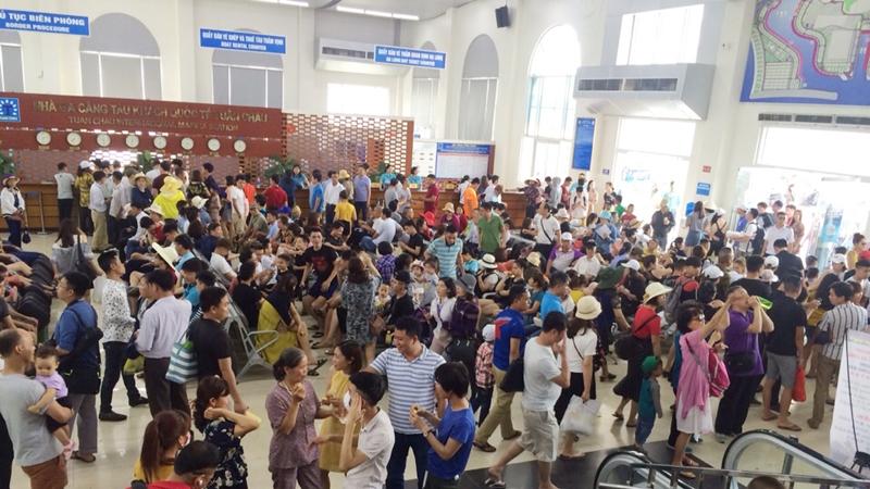 假期期间广宁省接待游客量达53万人次