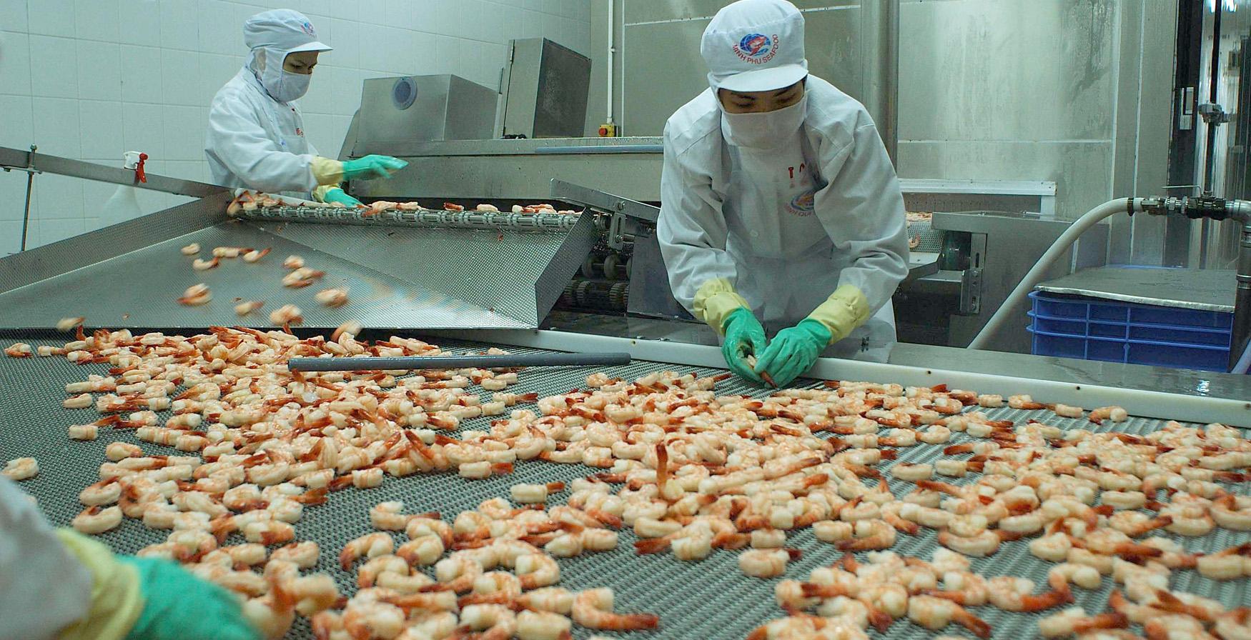 欧盟成为一季度越南虾类第一大出口市场