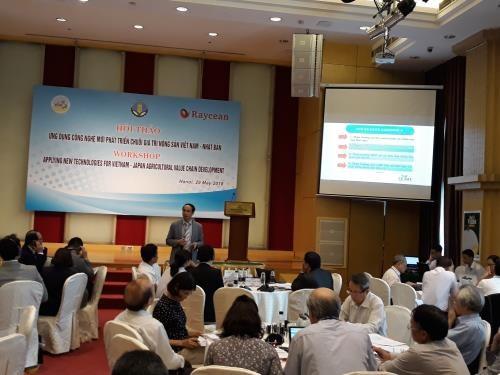 越南采用新技术 打造越日农产品价值链