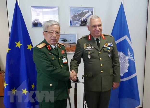 阮志咏在欧盟国防部长会议上发表重要讲话