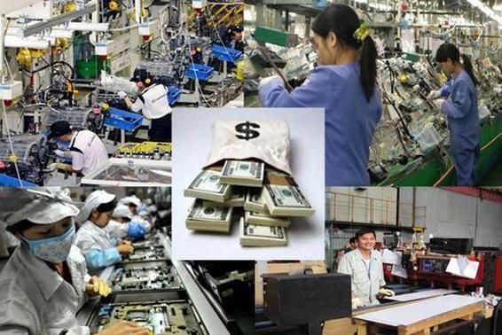 每年在海外的越南劳动者汇寄回国的侨汇约达30亿美元