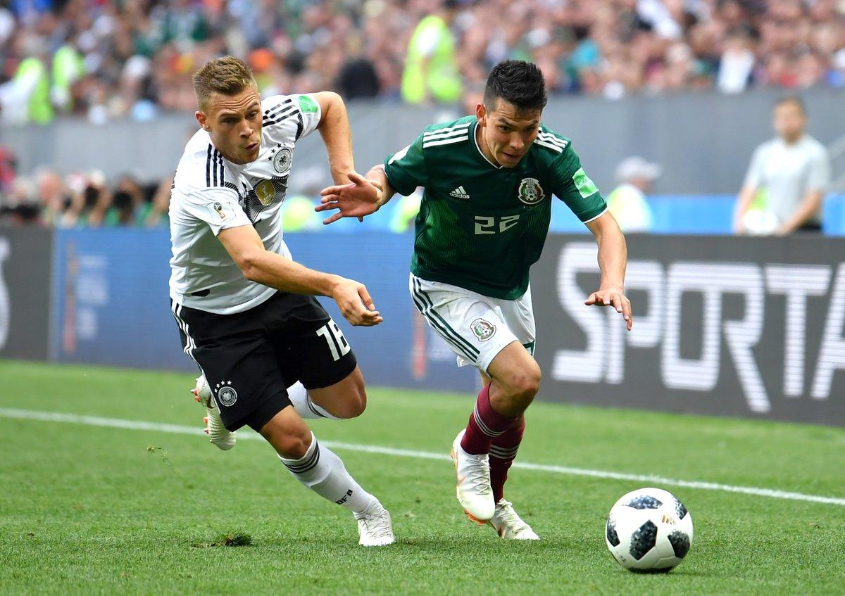 世界杯: 德国0-1墨西哥