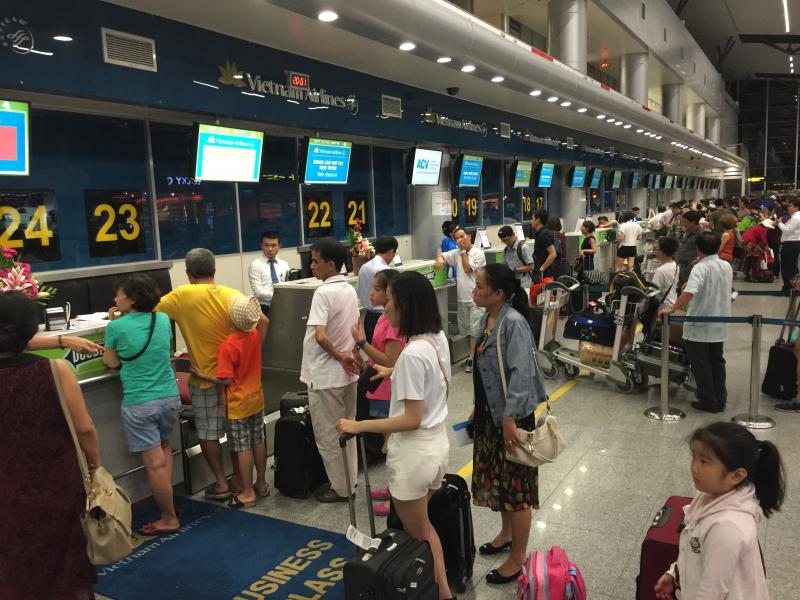 越南航空港乘客吞吐量猛增 达5280万人次
