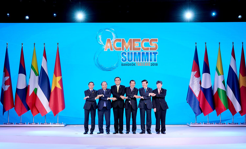 阮春福总理出席第八届ACMECS峰会  为ACMECS合作积极建言献策