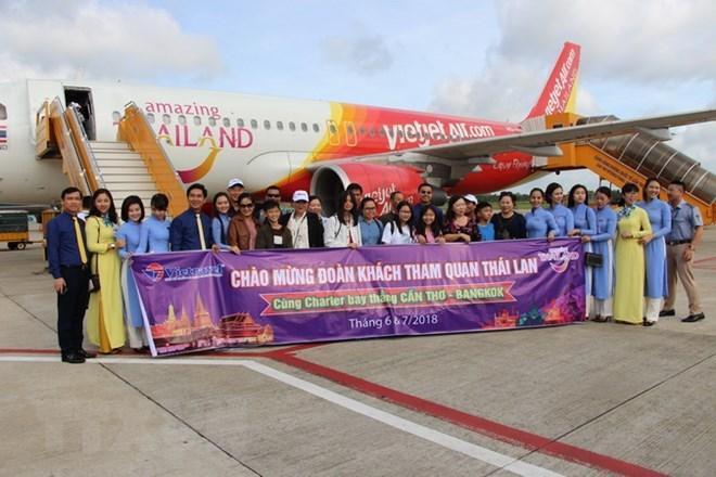越南芹苴市至泰国首都曼谷直达航线正式投日运行