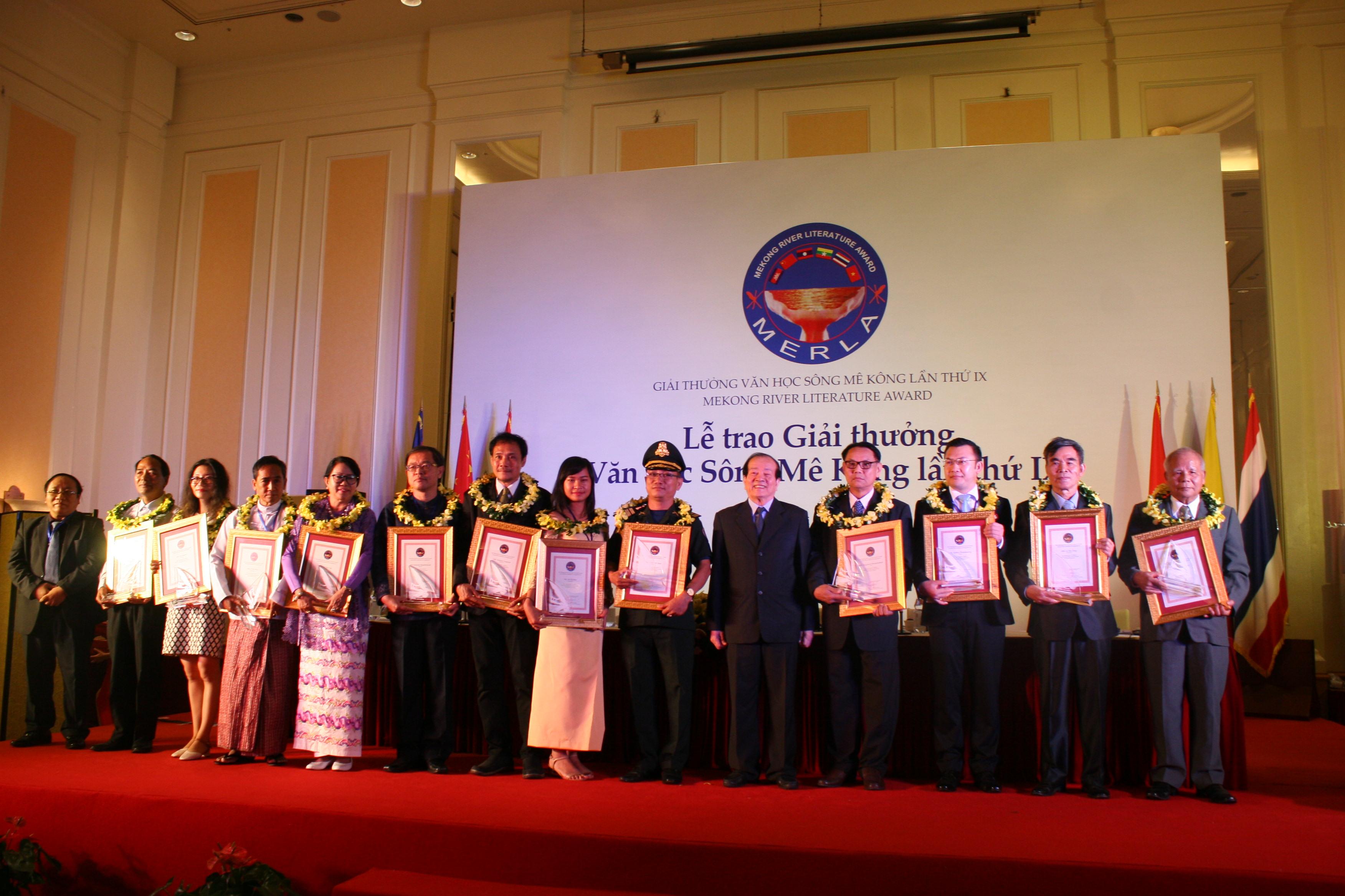 12个作品荣获第九届湄公河文学奖