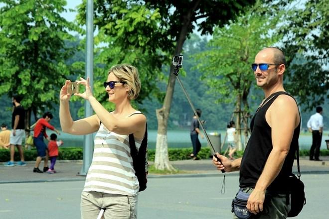 上半年河内市预计接待国际游客达逾300万人次