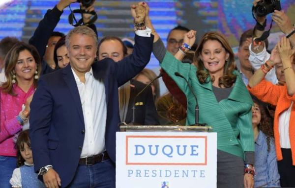 哥伦比亚民主中心党候选人杜克当选新一任总统