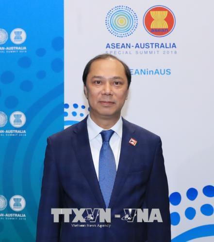越南出席第22届东盟-韩国对话会