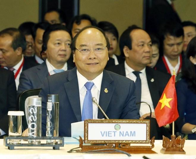 阮春福总理出席第9届越老柬缅合作峰会