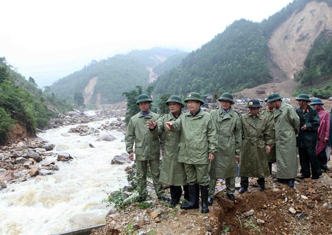 政府副总理郑廷勇赴莱州省指导救灾工作
