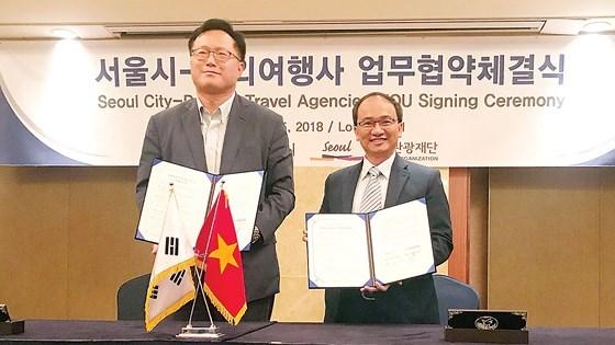西贡旅行社与首尔市政府签署合作备忘录