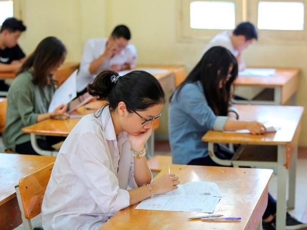 约90万名考生参加2018年越南国家高中毕业和大学入学统一考试