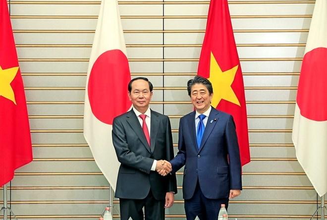 日本媒体: 越南与日本加强多个领域的合作