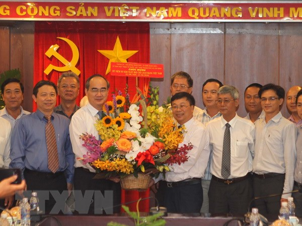 全国各地欢庆6.21越南革命新闻日