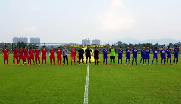 热身赛:越南U19队取得开门红