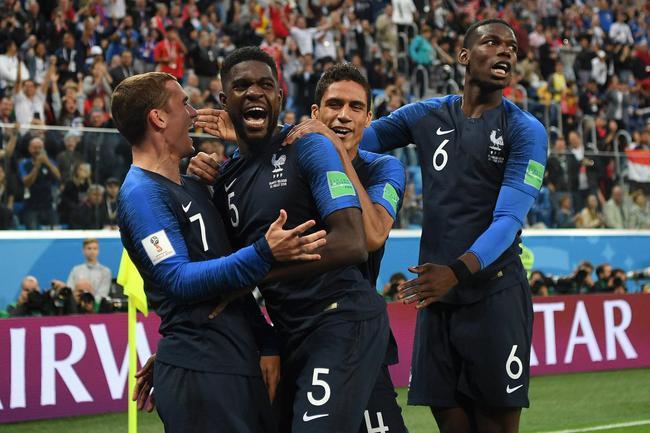 世界杯: 法国1-0比利时挺进决赛