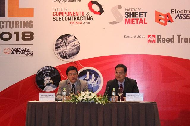 2018年越南制造业博览会推介诸多新技术