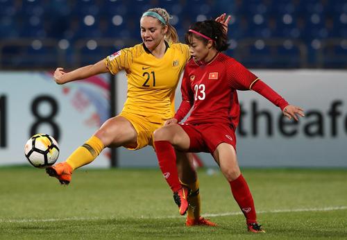 2018年东南女足锦标赛:越南队不敌澳大利亚U20队
