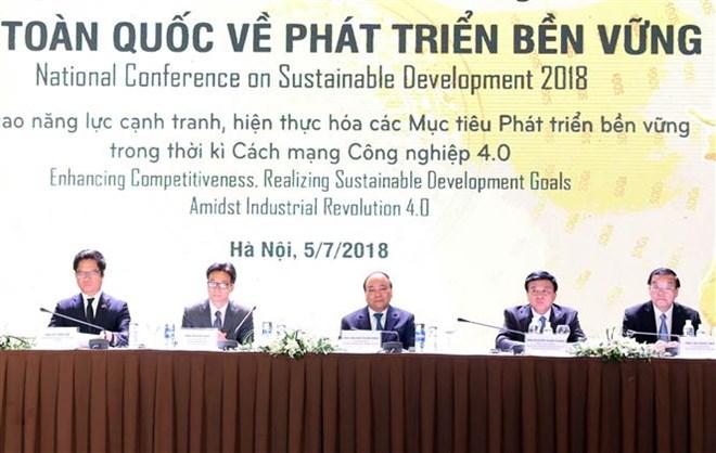政府总理阮春福:促进可持续发展是全社会的共同责任