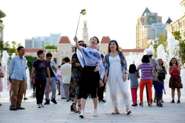 2018年上半年胡志明市接待游客量大幅度增加