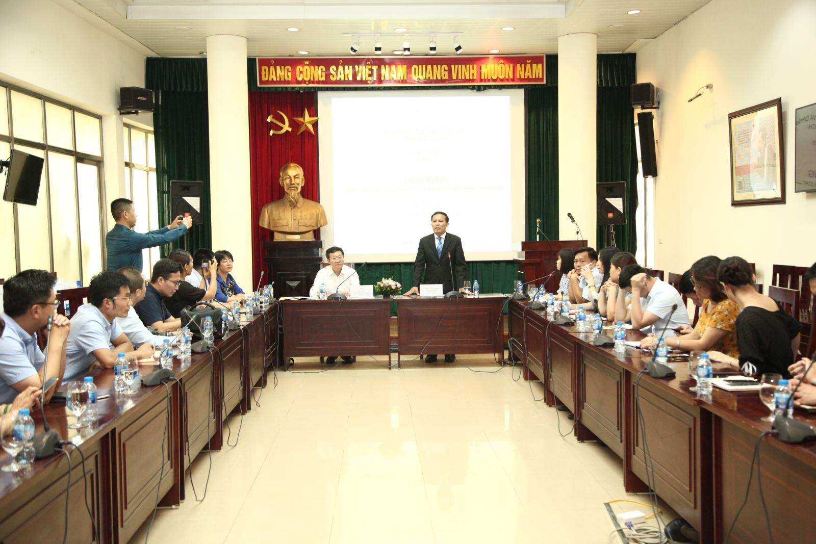 中国山东省旅游发展委员会考察越南旅游市场