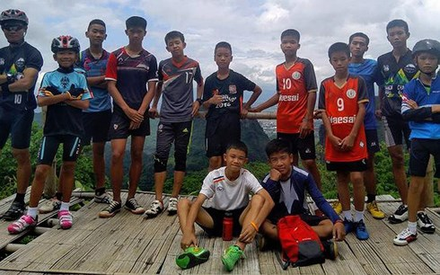 越南就泰国被困少年球队成功获救向泰国表示祝贺
