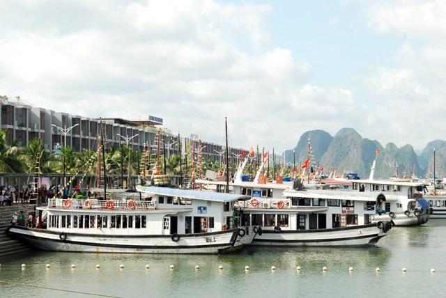 自2019年1月1日起广宁省将调整下龙湾观光票价
