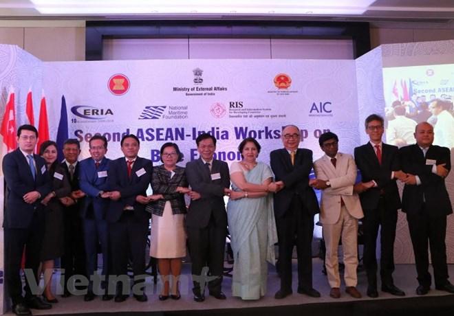 越南与印度外交部共同主持东盟——印度蓝色海洋经济研讨会