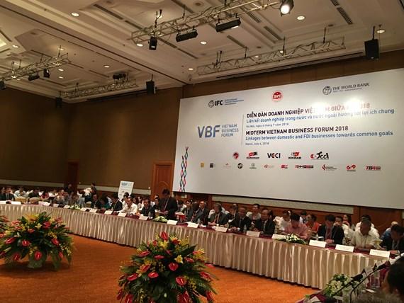 2018年中旬越南企业论坛举行
