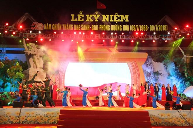 广治省溪生战役胜利50周年纪念仪式隆重举行