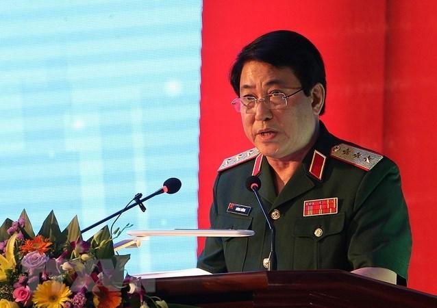 越南人民军高级代表团对中国进行友好访问