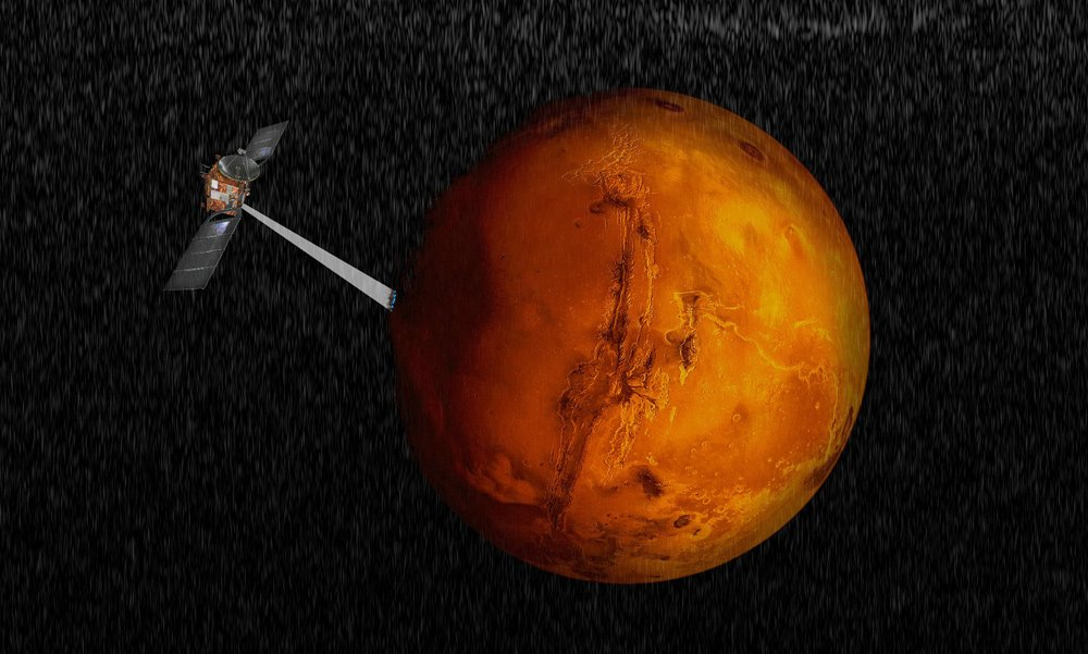 火星首次发现大型地下湖
