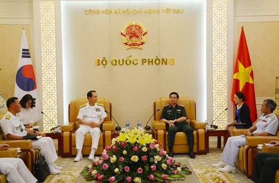 越南与韩国加强海军合作