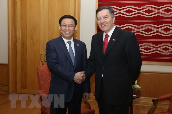 政府副总理王廷惠对智利共和国进行正式访问