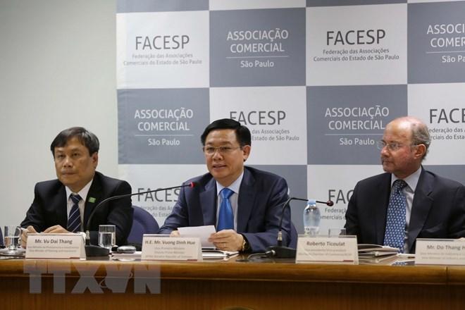 王廷惠副总理会见巴西一流企业领导
