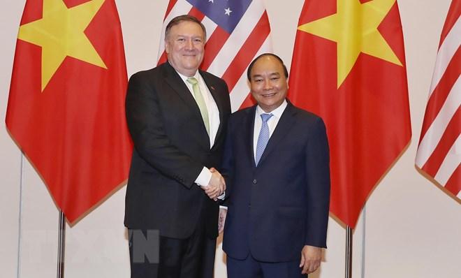 越南希望推动越美关系务实有效发展