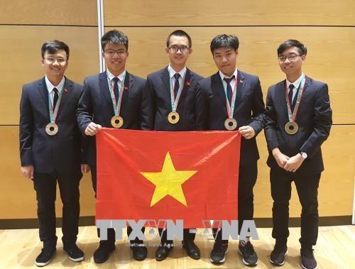 越南学生在2018年国际奥赛中取得佳绩