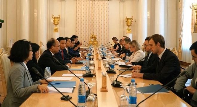 第十次越俄战略对话会在俄罗斯举行