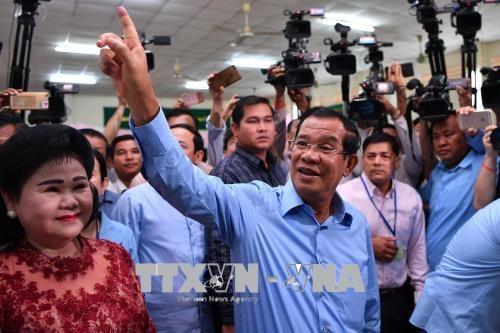 柬埔寨人民党在第六届国会大选中获胜 赢得国会全部125个议席