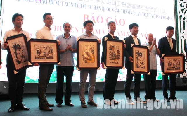 韩国企业协会代表团赴越南北宁省寻找商机