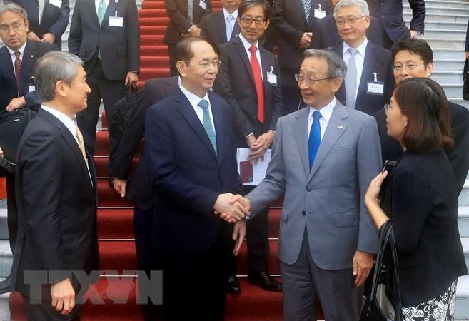 越南将日本视为长期和一流的重要伙伴