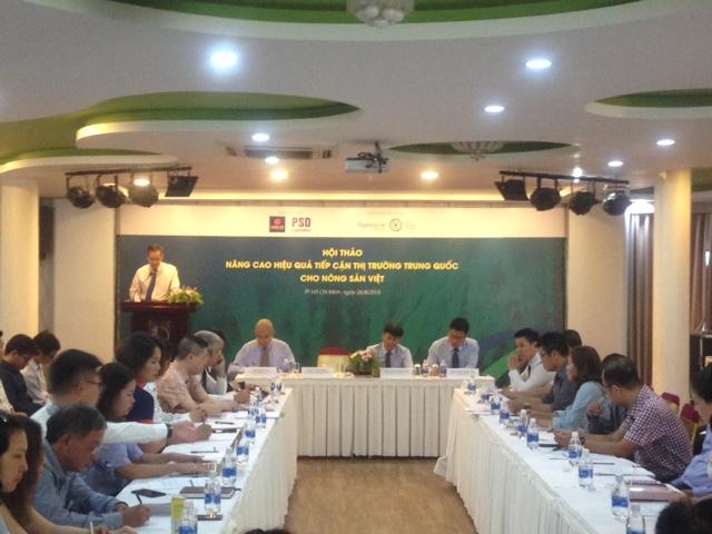 提高越南农产品进军中国市场的效果