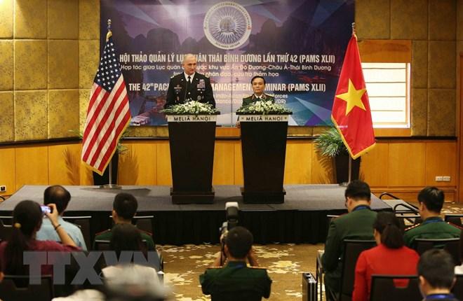 第42届太平洋陆军管理研讨会在河内拉开帷幕