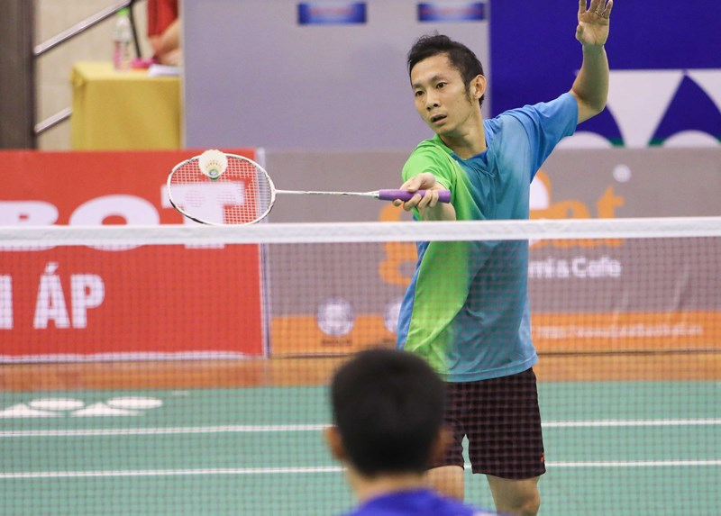 2018年越南羽毛球公开赛:阮进明挺进第三轮